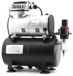 1203 Компрессор Jas 1203, с регулятором давления, автоматика, ресивер - фото 10226
