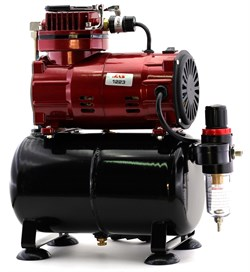 1223 Компрессор Jas 1223, с регулятором давления, автоматика, ресивер - фото 10347