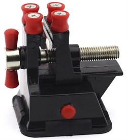 4185 Мини-тиски с фигурным зажимом на присоске, 35 мм - фото 6689