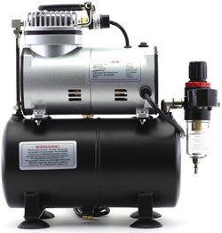 1203 Компрессор Jas 1203, с регулятором давления, автоматика, ресивер - фото 6703