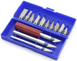 4004 Набор ножей с цанговым зажимом, 13 предметов - фото 7512