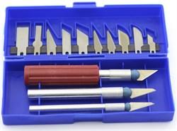 4004 Набор ножей с цанговым зажимом, 13 предметов - фото 7513
