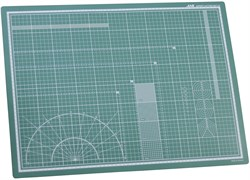 4502 Коврик для резки, самовосстанавливающийся 3-хслойный, А2, 450 х 600 - фото 7623