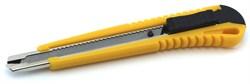 4051 Нож выдвижной с боксом д/хранения запасных лезвий, автоматическая фиксация лезвия - фото 7625