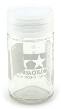 81042 Баночка 46 мл с делением для смешивания красок Tamiya - фото 8736