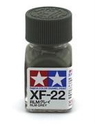 80322 Краска эмалевая матовая XF-22 RLM Gray серый (герм.) 10 мл Tamiya