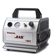 1207 Компрессор Jas 1207 с регулятором давления и ресивером 300 мл