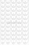 Трафарет на липкой основе Френч декоративный Звезды