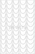 Трафарет на липкой основе Френч декоративный Салонная классика