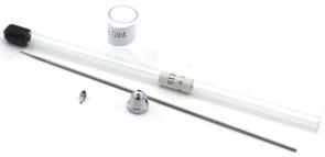 Сопло 0,5 мм распылительный комплект для резьбовых аэрографов 3058