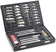 4007 Набор ножей с цанговым зажимом, 51 предмет