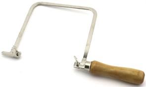 4084 Лобзик, 140 мм, глубина 150 мм, деревянная ручка