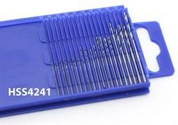 4271 Мини-сверла, диаметр 0,3 - 1,6 мм, набор, 20 шт., HSS 4241, без покрытия