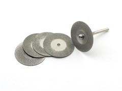 2494 Диск отрезной, алмазный, d 30 мм, 5 шт./уп., блистер