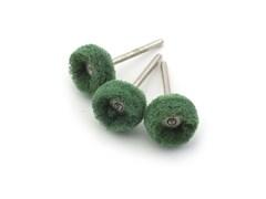 2171 Диск полировочный, полимер, 22 мм, зеленый № 240, 3 шт./уп., блистер