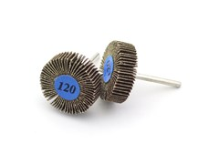2407 Круг лепестковый, d 30 х 10 мм, зерно Р 120, 2 шт./уп., блистер