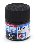 82101 Краска LP-1 Black черная глянцевая 10 мл Tamiya