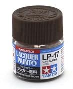 82117 Краска LP-17 Linoleum Deck Brown коричневая 10 мл Tamiya