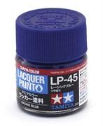 82145 Краска LP-45 Racing Blue гоночный синий 10 мл Tamiya