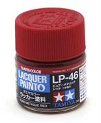 82146 Краска LP-46 Pure Metallic Red чистый красный металлик 10 мл Tamiya