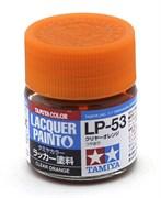 82153 Лак прозрачный  LP-53 Clear Orange оранжевый 10 мл Tamiya