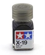 80019 Краска эмалевая X-19 Smoke дымчатая 10 мл Tamiya