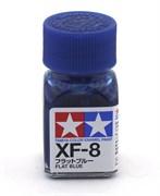 80308 Краска эмалевая XF-8 Flat Blue синяя 10 мл Tamiya