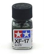 80317 Краска эмалевая XF-17 Sea Blue морская синяя 10 мл Tamiya