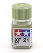 80321 Краска эмалевая XF-21 Sky небесная 10 мл Tamiya