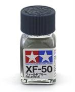 80350 Краска эмалевая XF-50 Field Blue полевая синяя 10 мл Tamiya