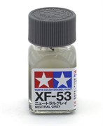 80353 Краска эмалевая XF-53 Neutral Gray нейтрально-серая 10 мл Tamiya