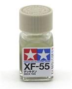 80355 Краска эмалевая XF-55 Deck Tan палубный 10 мл Tamiya