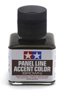 87132 Краска для финальной отделки модели коричневая , 40 мл Tamiya