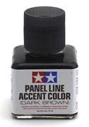 87140 Краска для финальной отделки моделей, темно-коричневая 40 мл Tamiya