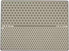 3851 Трафарет двухсторонний для вырезания цифрового сотового камуфляжа