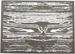 3821 Трафарет нанесения текстуры дерева