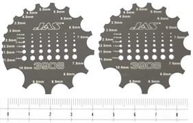 3908 Скрайбер цилиндрических поверхностей и формирования головок болтов и гаек 2 шт.