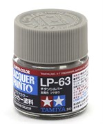 82163 Краска LP-63 Titanium Silver титан серебро 10 мл Tamiya