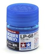 82168 Краска LP-68 Clear blue прозрачный голубой 10 мл Tamiya