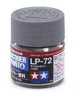 82172 Краска LP-72 Mica Silver метал.алюминий 10 мл Tamiya