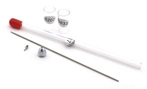 5556 Сопло 0,8 мм распылительный комплект для резьбовых аэрографов