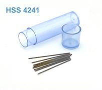 42259 Мини-сверло HSS 4241 титановое покрытие d 0,5 мм 10 шт.