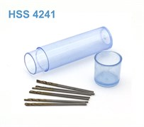 42264 Мини-сверло HSS 4241 титановое покрытие d 0,75 мм 10 шт.
