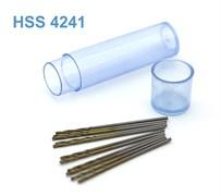 42267 Мини-сверло HSS 4241 титановое покрытие d 0,9 мм 10 шт.