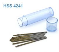 42269 Мини-сверло HSS 4241 титановое покрытие d 1,0 мм 10 шт.
