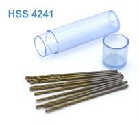 42270 Мини-сверло HSS 4241 титановое покрытие d 1,1 мм 10 шт.