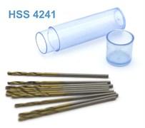 42272 Мини-сверло HSS 4241 титановое покрытие d 1,3 мм 10 шт.