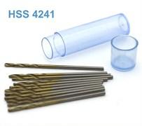 42273 Мини-сверло HSS 4241 титановое покрытие d 1,4 мм 10 шт.