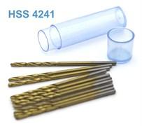 42275 Мини-сверло HSS 4241 титановое покрытие d 1,6 мм 10 шт.