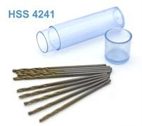 42571 Мини-сверло HSS 6542 (M2) титановое покрытие d 1,2 мм 10 шт.